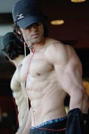 Hrithik Roshan Abs Body