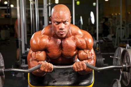 phil heath body