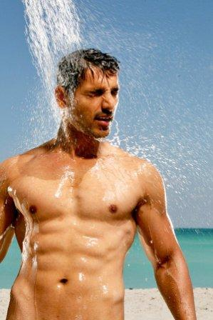 john abraham body in dostana