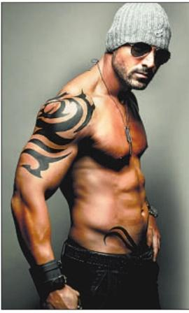 john abraham body in force