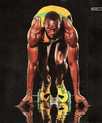 Usain Bolt body