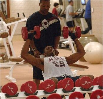 kobe bryant workout at gym
