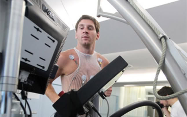 lionel messi workout at gym