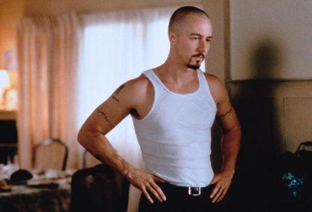 edward norton workout in american history x