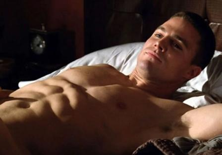 Stephen Amell Abs