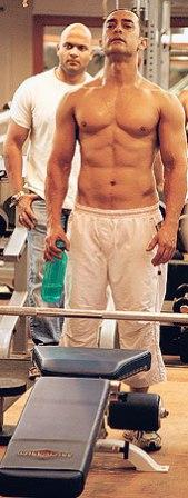 Aamir Khan's workout for Dhoom 3