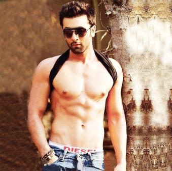 Ranbir Kapoor's abs