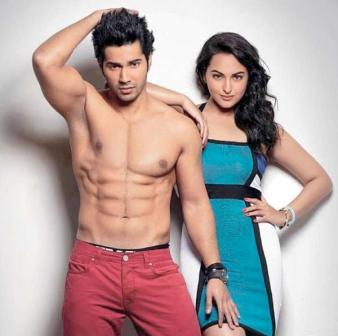 Varun Dhawan Body Mucles