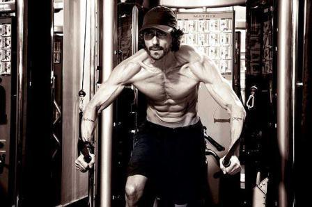 arjun rampal workout at gym