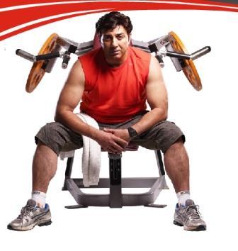 Sunny Deol Fitness Secret at gym
