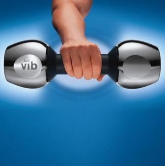 Vibrating Dumbbells