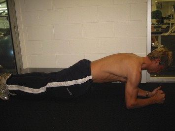prone hold exercise