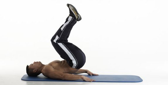 reverse crunches exercises