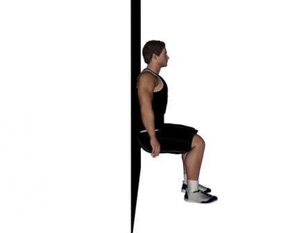 wall squats