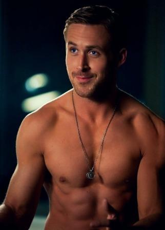 ryan gosling showing his body
