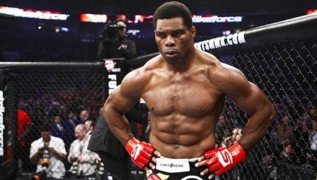 Herschel Walker abs body