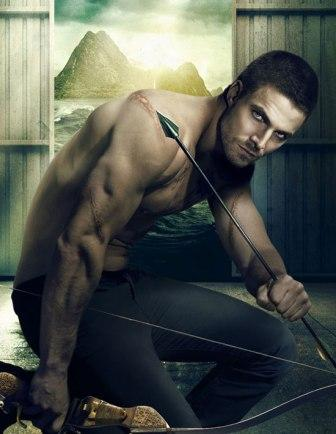 Stephen Amell Arrow poster