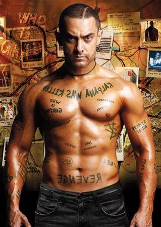 Aamir Khan's 8 pack abs