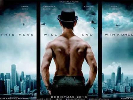 Aamir Khan's body in Dhoom 3