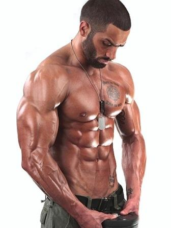Lazar Angelov Body Muscles