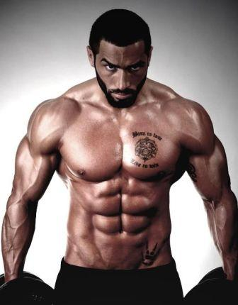Lazar Angelov Muscles