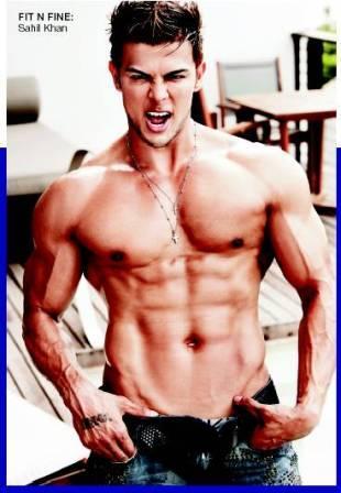 Sahil Khan Body Muscles