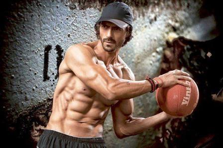 arjun rampal workout sculpted body picture