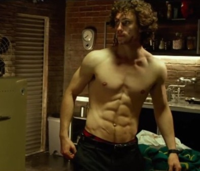 Aaron Taylor-Johnson body