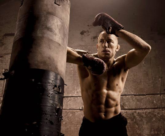 Georges St-Pierre Training