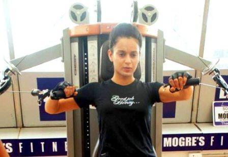 Kangna Ranaut workout