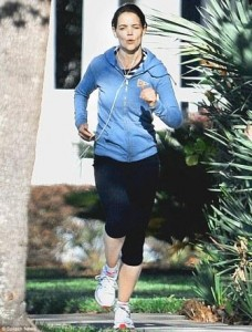Katie Holmes workout