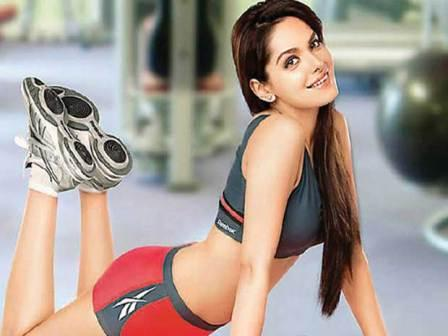 Shazahn Padamsee workout
