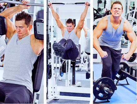 The Miz Workout