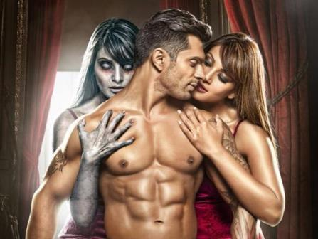 "Karan Singh Grover's body in movie ""Alone"""