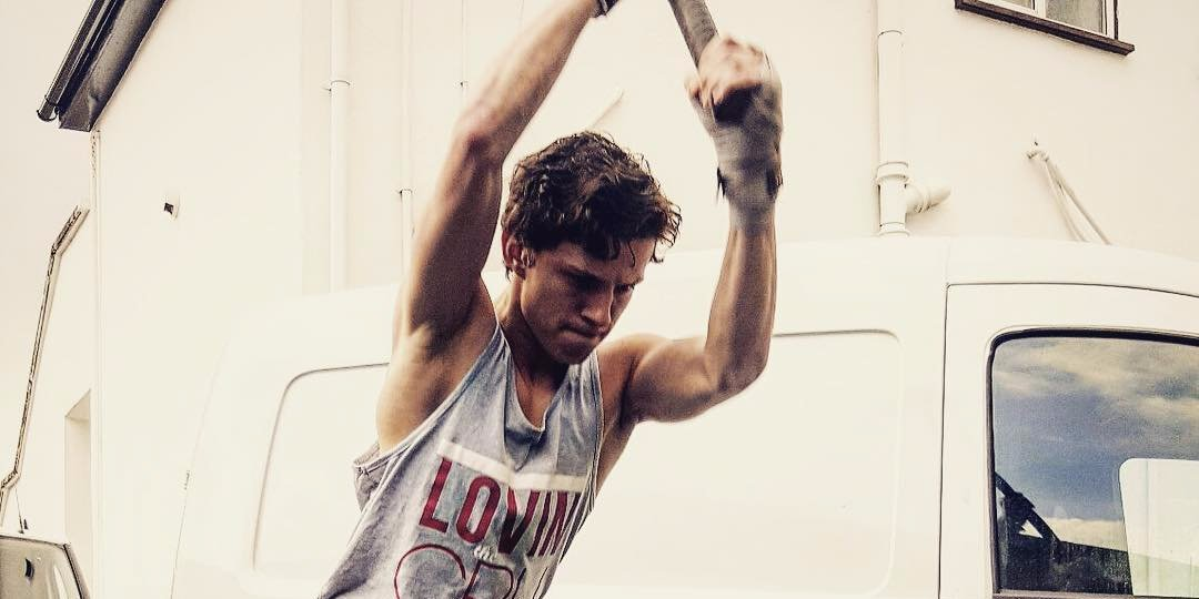 Tom Holland Workout
