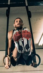 Conor McGregor Working out