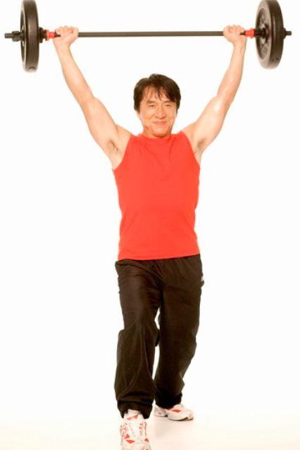 Jackie Chan Workout