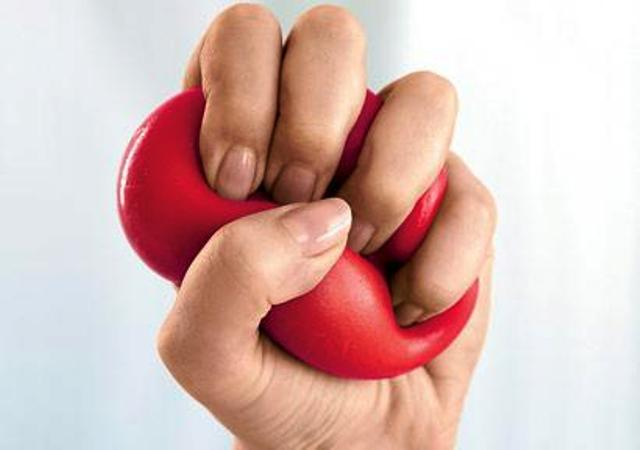 Squeeze a Stress Ball