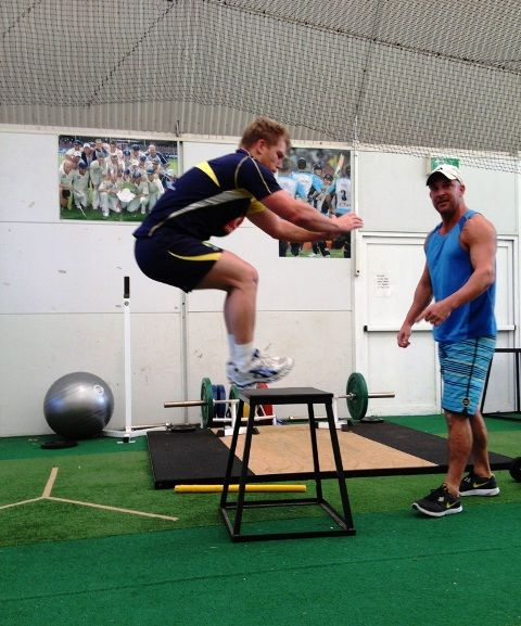 David Warner Workout