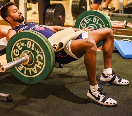 Hardik Pandya Workout