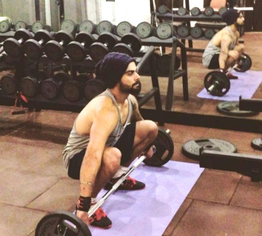 Virat Kohli Workout Routine