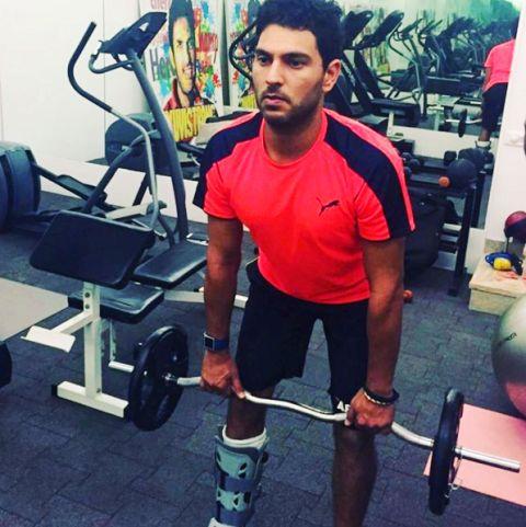 Yuvraj Singh Workout Routine