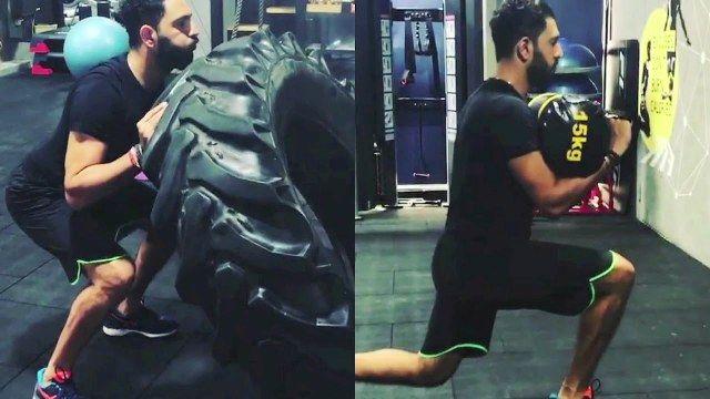 Yuvraj Singh Workout