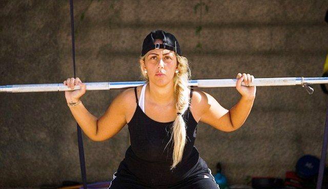 Sophie Kasaei Workout Routine & Diet Plan